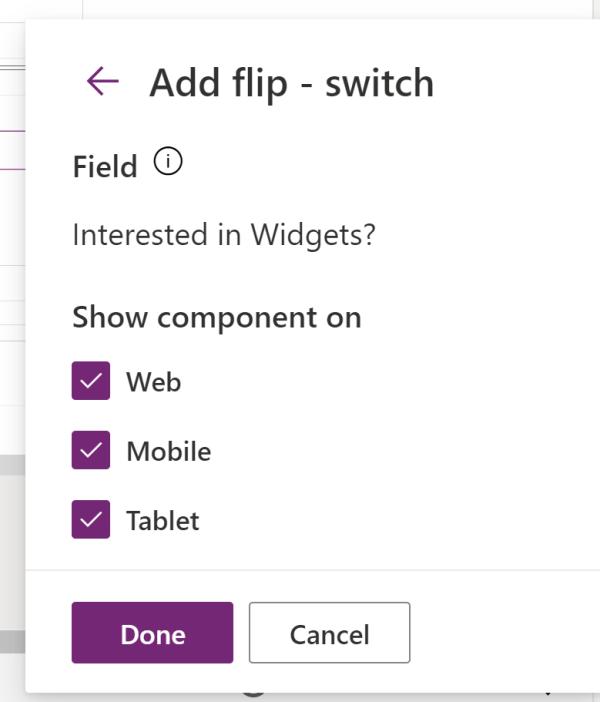 flip-switch scope